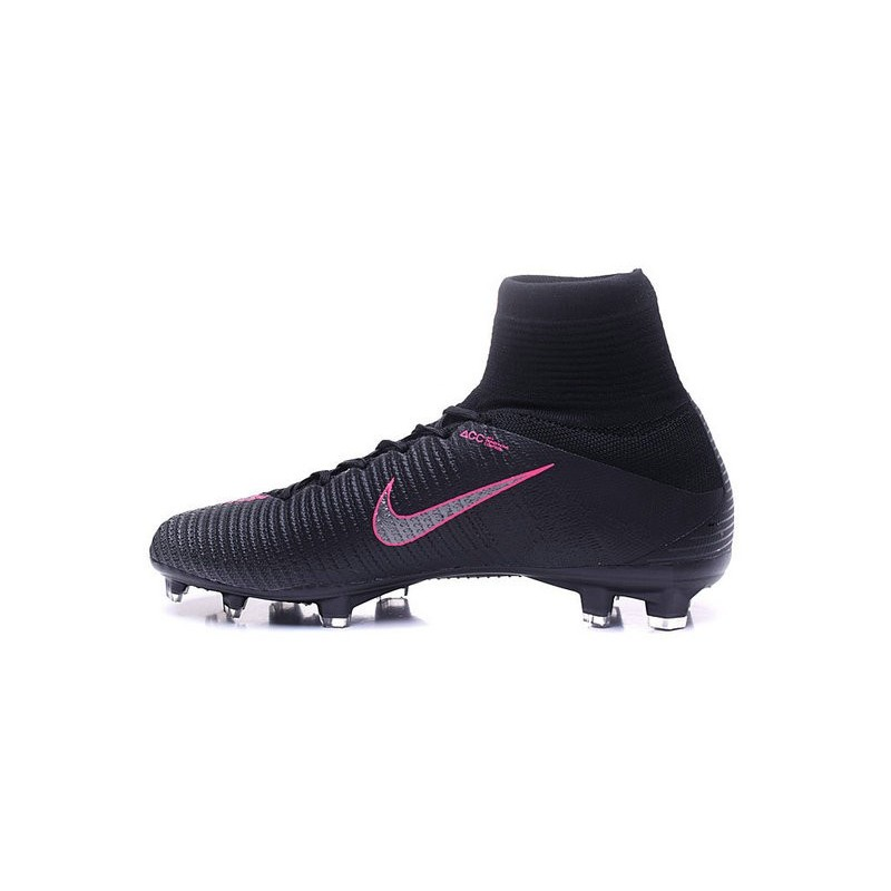 Nike Soccer Boots Mercurial Superfly V FG For Men -Black Pink Maximize.  Previous. Next b965864ae570
