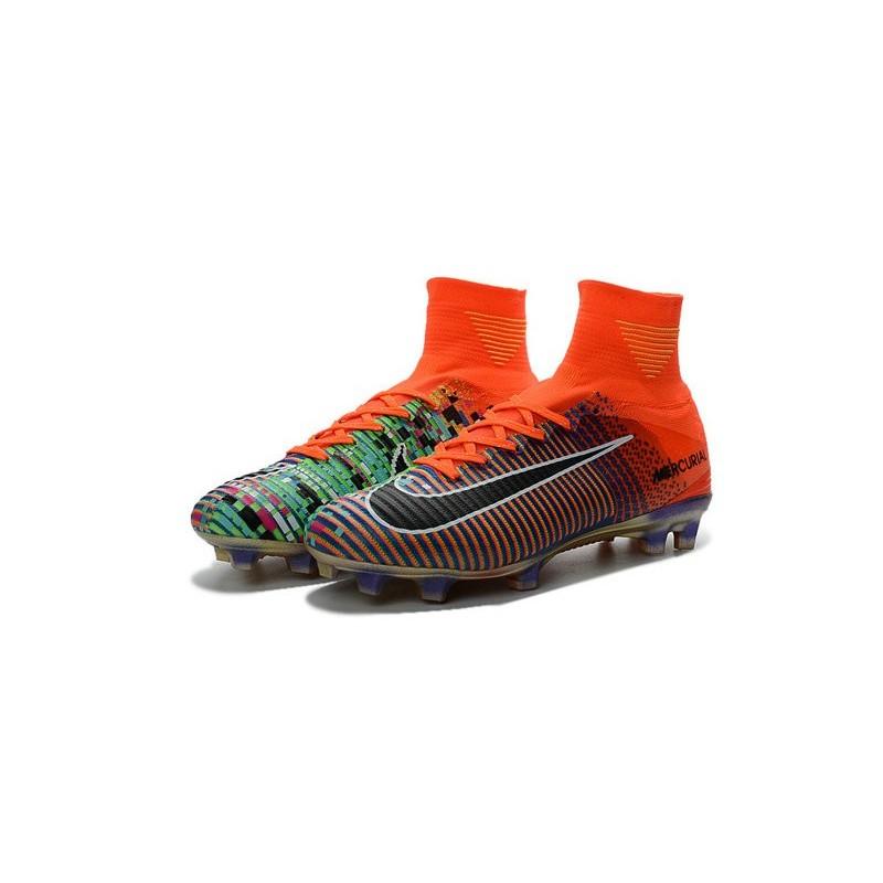 a8f9c9a3f ... czech nike ea sports new mercurial superfly 5 fg blue orange black  shoes 13e1a ccef1