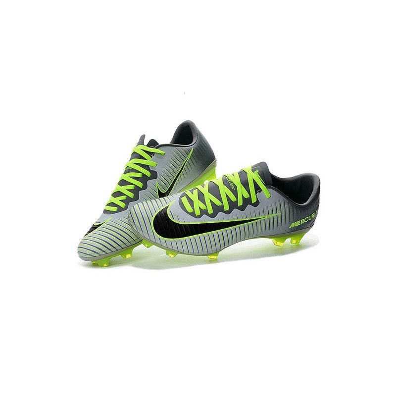 7037bdb4f40f Nike Men Mercurial Vapor 11 FG Football Cleat - Pure Platinum Black Green  Maximize. Previous. Next