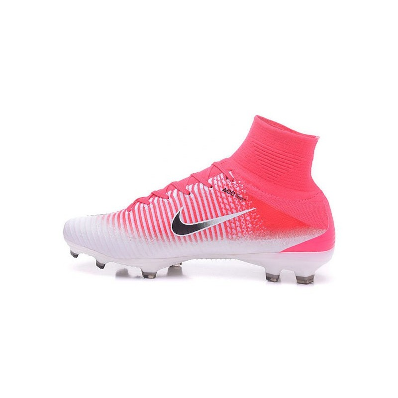 white high top soccer cleats nike football red