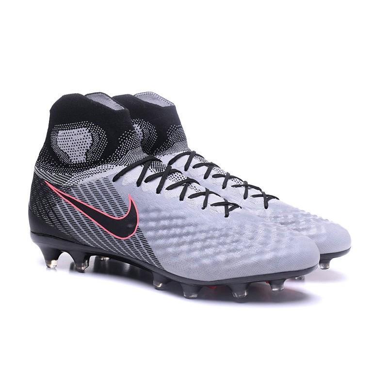 la meilleure attitude 5364e 8c853 Nike Magista Obra II FG New 2017 Soccer Cleat Gray Black