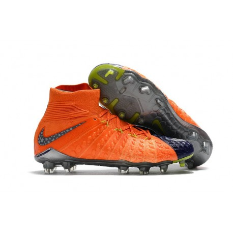 Nike Hypervenom Phantom III DF FG New Boots - Blue Orange