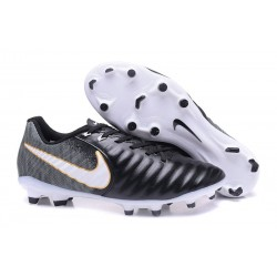 Nike Tiempo Legend 7 FG News Leather Soccer Cleat - Black