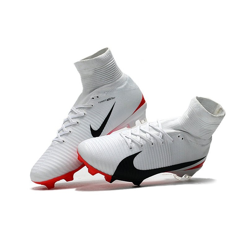 f083d9b1365 Nike Mercurial Superfly V FG News Top Soccer Cleats White Black Red  Maximize. Previous. Next