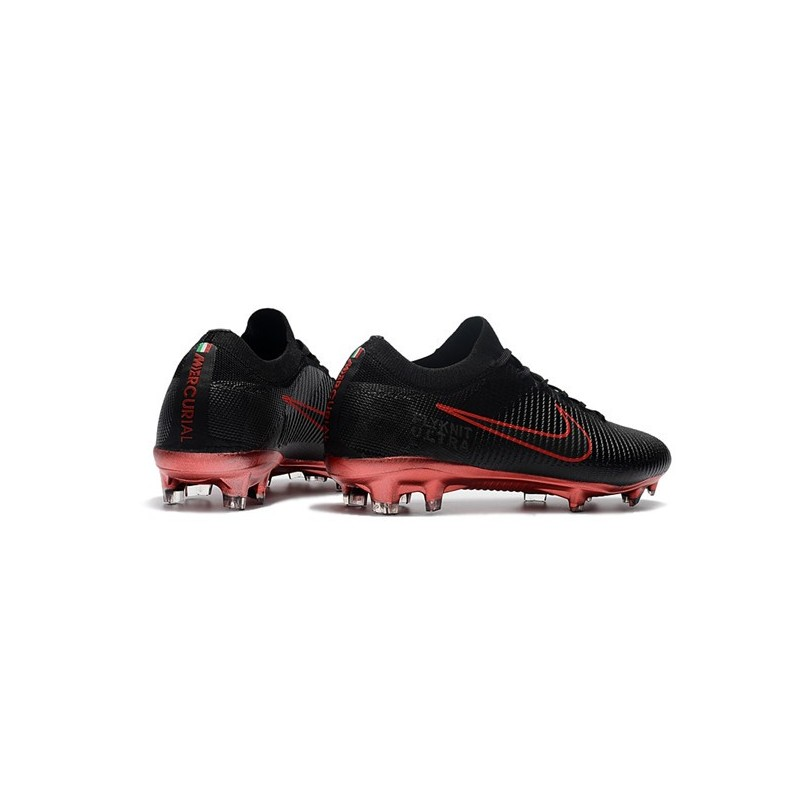 c7df444b5500 Nike Mercurial Vapor Flyknit Ultra FG New Football Shoes - Black Red  Maximize. Previous. Next