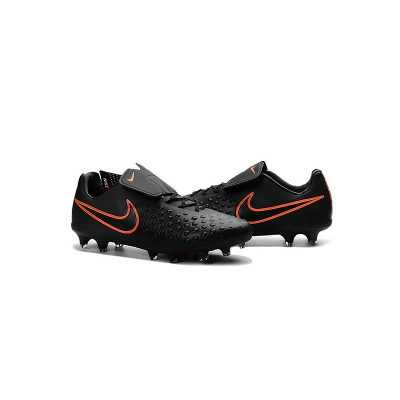 1d54dfd2bfee Nike Magista Opus II FG Mens Firm Ground Soccer Shoes Black Orange