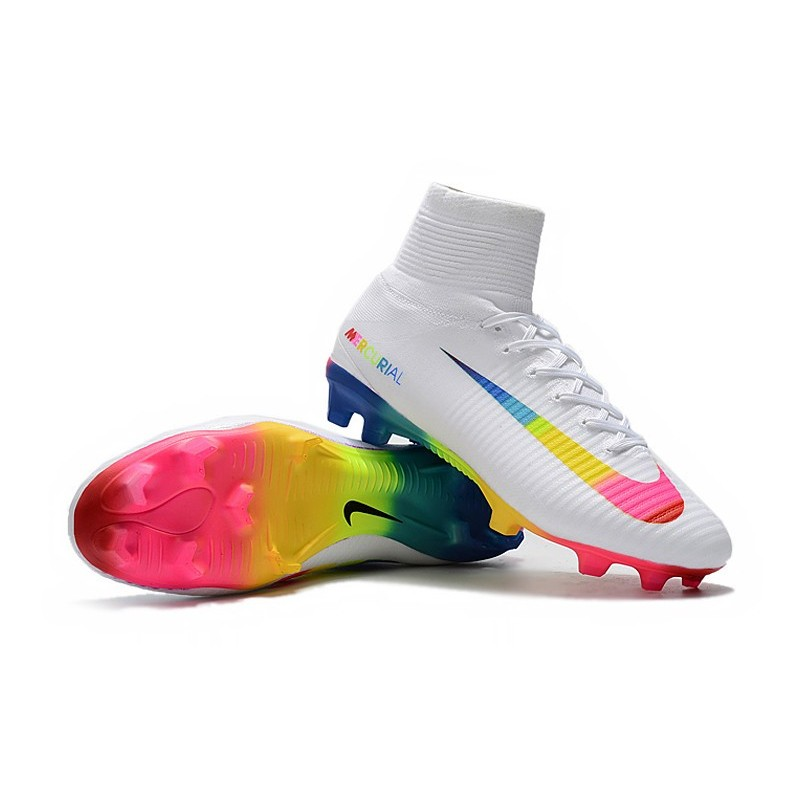78be0d7c018d Nike Mercurial Superfly 5 FG ACC Soccer Boots - White Colourful Maximize.  Previous. Next
