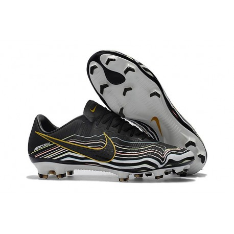 New Nike Mercurial Vapor 11 FG ACC Football Shoes - Black Gold