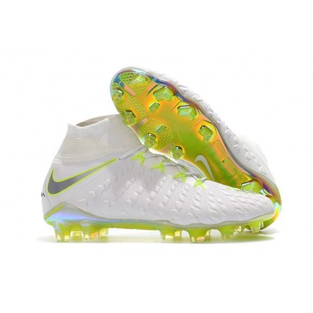 Nike Hypervenom Phantom III World Cup 2018 FG - White Grey