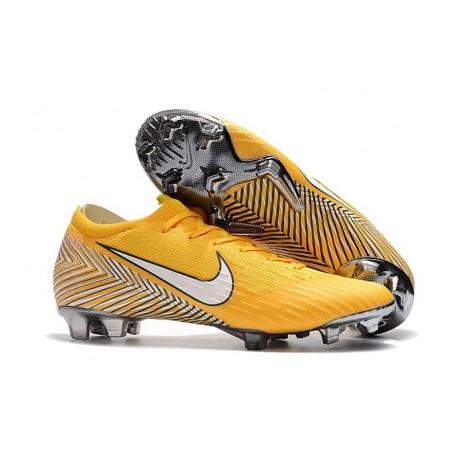 Nike Neymar Mercurial Vapor XII Elite Football Boots Yellow White