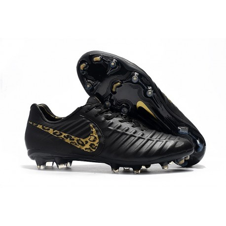 the best attitude 1b619 b59fd Nike Tiempo Legend 7 Elite FG Firm Ground Cleats - Black Safari