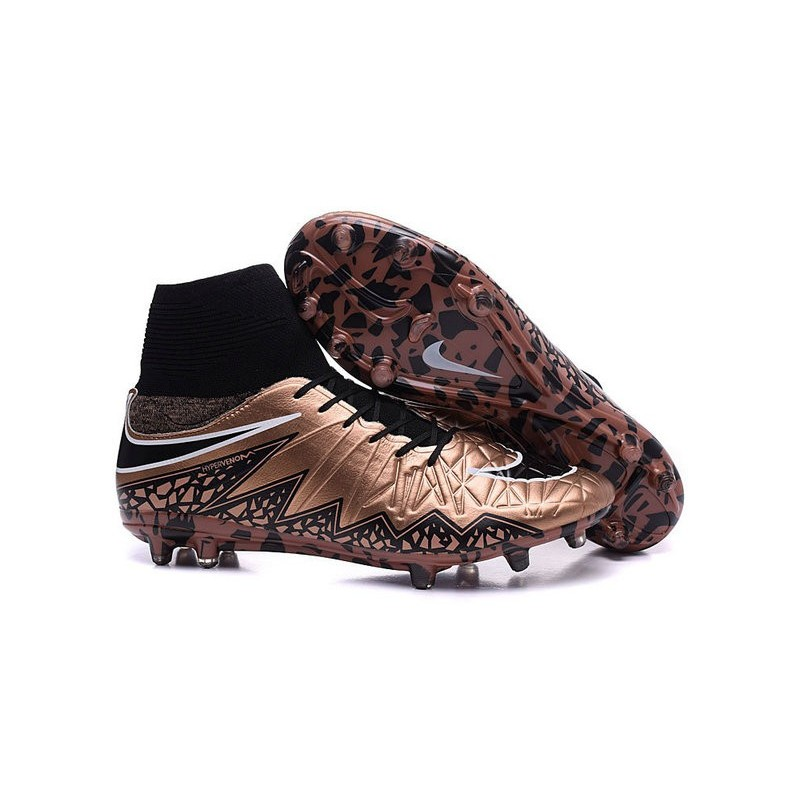 a6b954662270 Mens Nike Hypervenom Phantom 2 FG Soccer Boots Bronze Black Maximize.  Previous. Next