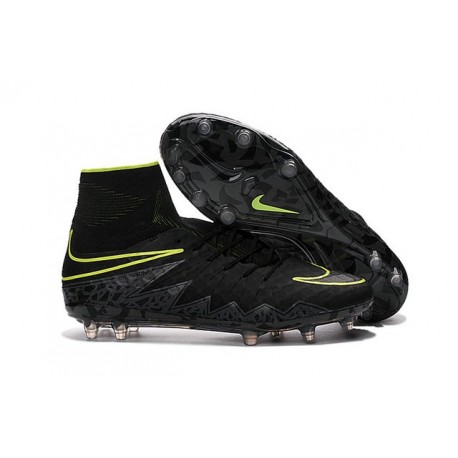 e878719f9a73 Nike Mens Hypervenom Phantom 2 FG Soccer Cleats Black Volt