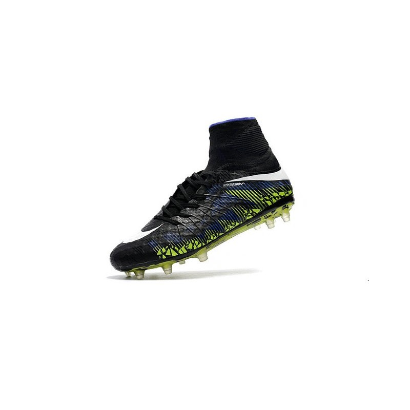 Nike Mens Hypervenom Phantom 2 FG Soccer Cleats Black Green White Maximize.  Previous. Next ba548d86d