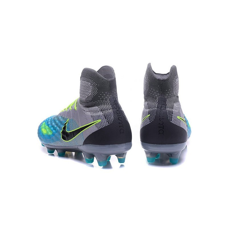 low priced 61cd0 106fc nike magista high top blue black shoes