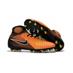 Nike Magista Obra II FG New 2017 Soccer Cleat Orange Black