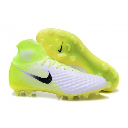 Nike Magista Obra II FG New 2017 Soccer Cleat White Yellow