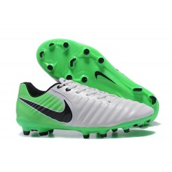 Nike Tiempo Legend VII FG Mens Firm Ground Boots - White Green