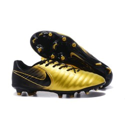 Nike Tiempo Legend VII FG Mens Firm Ground Boots - Gold Black