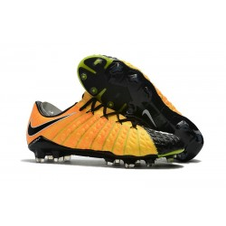 Nike Hypervenom Phantom III FG Firm Groud Shoes - Yellow Black Silver