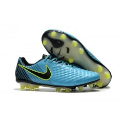 Nike Magista Opus 2 FG Mens Soccer Shoes Blue Black