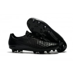 Nike Magista Opus 2 FG Mens Soccer Shoes All Black