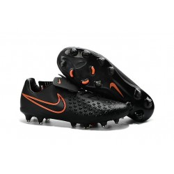Nike Magista Opus II FG Mens Firm Ground Soccer Shoes Black Orange