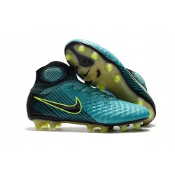 Nike Magista Obra 2 FG Firm Ground Football Boot Blue Black