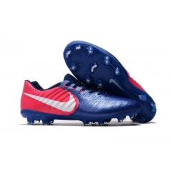 Nike Tiempo Legend 7 FG Leather Soccer Cleats Blue Rose