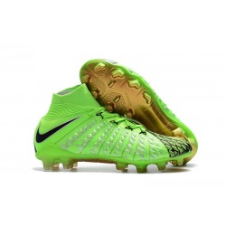 Nike Hypervenom Phantom III Dynamic Fit FG - Green Black