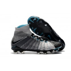 Nike Hypervenom Phantom III Dynamic Fit FG - Black Grey