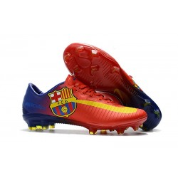 Nike Mercurial Vapor XI FG FC Barcelona Red Soccer Boots