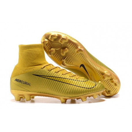buy popular 5e873 d5116 Nike Mercurial Superfly 5 FG ACC Soccer Boots - CR7 Gold