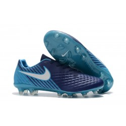 Nike Magista Opus 2 FG Mens Soccer Shoes Dark Blue