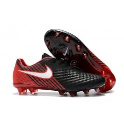 Nike Magista Opus 2 FG Mens Soccer Shoes Black Red