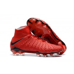 Nike Hypervenom Phantom III Dynamic Fit FG - Red Black