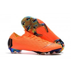 Nike Mercurial Vapor XII Elite Mens Football Boots Orange Black