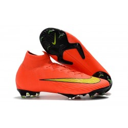 Nike Mercurial Superfly 360 Elite FG Football Boots - Orange Yellow