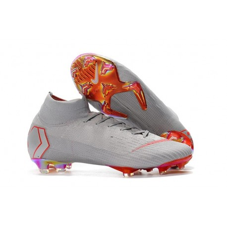 the latest f5457 48646 Nike Mercurial Superfly 360 Elite FG Football Boots - Grey Orange