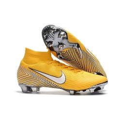 Neymar Nike Mercurial Superfly 360 Elite FG Football Boots - Yellow White