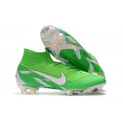 Nike Mercurial Superfly 360 Elite FG Football Boots - Green White
