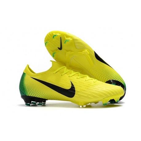Nike Mercurial Vapor XII Elite Mens Football Boots Yellow Black
