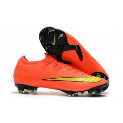Nike Mercurial Vapor XII Elite Mens Football Boots Crimson Yellow