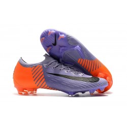Nike Wolrd Cup Mercurial Vapor 12 Elite FG Cleats - Purple Orange Black