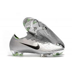 Nike Wolrd Cup Mercurial Vapor 12 Elite FG Cleats - Silver Black