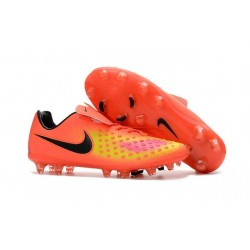 Nike Magista Opus II FG Mens Firm Ground Soccer Shoes Orange Yellow Black