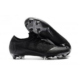 Nike Wolrd Cup Mercurial Vapor 12 Elite FG Cleats - Full Black