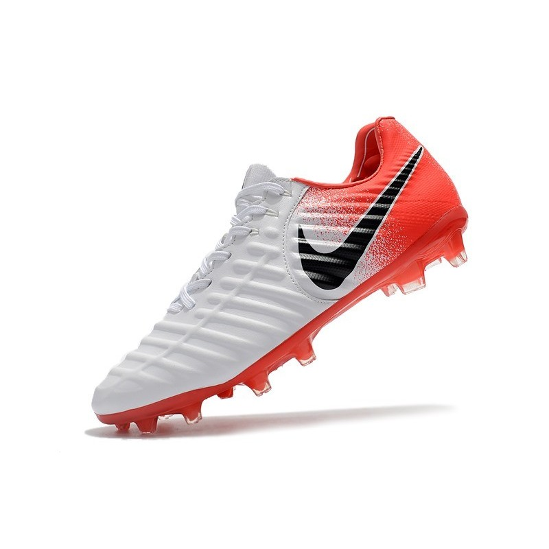 release date c62d9 881bd Nike Tiempo Legend 7 Elite FG Firm Ground Cleats - White Red