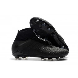 Nike Hypervenom Phantom III Dynamic Fit FG - Black Silver