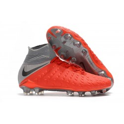 Nike Hypervenom Phantom III Dynamic Fit FG - Red Gray